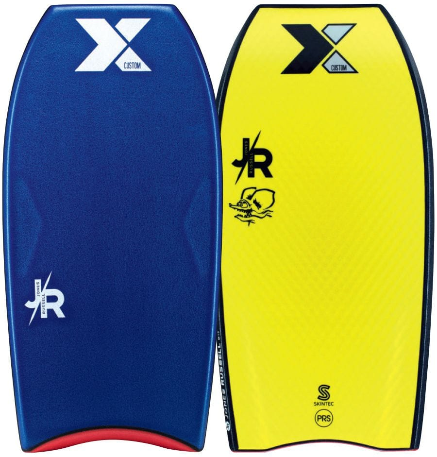 Custom X Jones Russell D12 Skintec 2016 Bodyboard