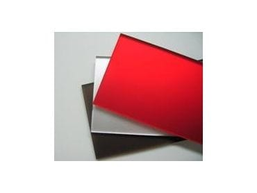 EuroMir Acrylic Red Satin Mirror Sheet 2030 x 1525 x 3mm