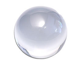 Acrylic Clear Crystal Ball Diameter 90mm