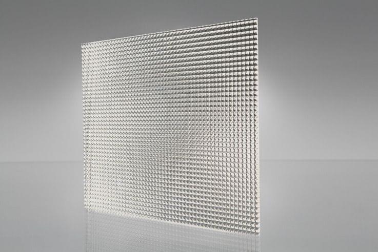 Light Diffuser: K12 Clear Prismatic Acrylic Light Diffuser