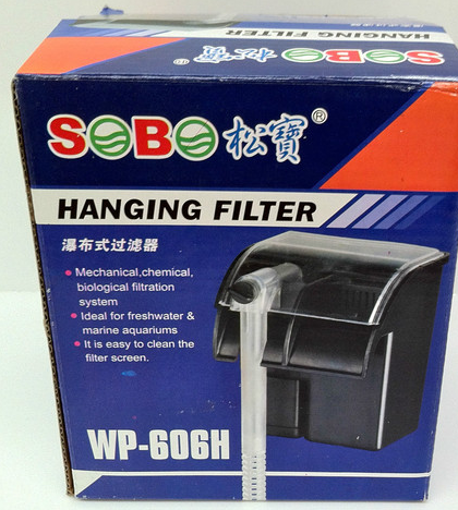 Aquarium Fish Tank Hanging Filter. Saving Energy. WP-606