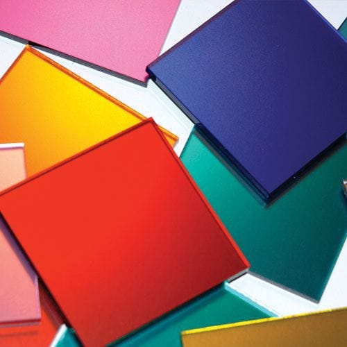 Acrylic Cast Colour Mirror Sheet