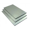 Aluminium Composite Panel Silver Brushed 610 x 610mm x 3mm thick. Signboard for building