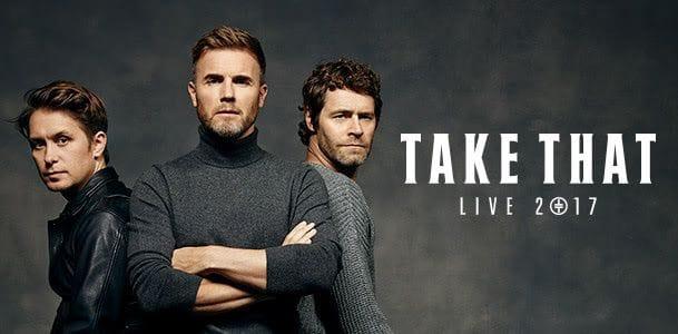 Take That - Qudos Bank Arena