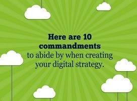 The 10 commandments of digital strategy