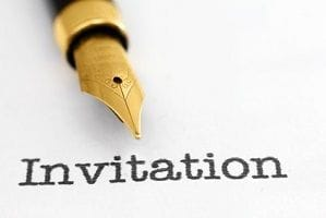 Use enticing invitations to boost attendee numbers