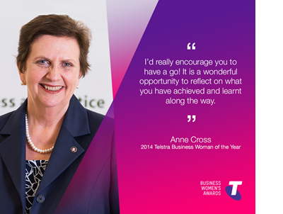 Nominate a woman for the Telstra Business Women's Awards