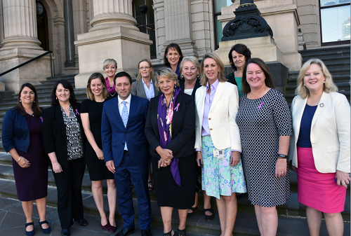 Liberal and National MPs recognising IWD2017