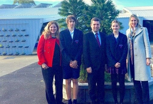 Visit to Bentleigh Secondary College