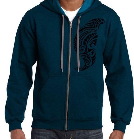 Men's Atua Design Zip Hoodie