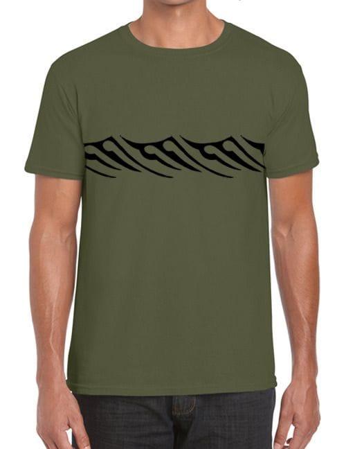 Men's Karekare Design T Shirt