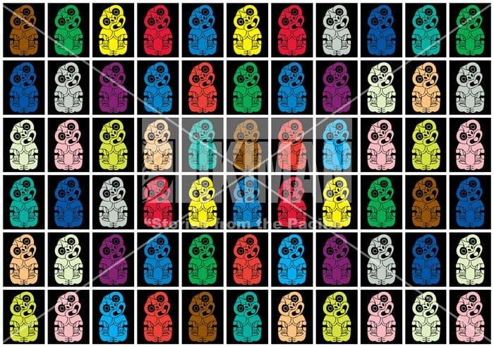 Hei Tiki Canvas Multi Colour
