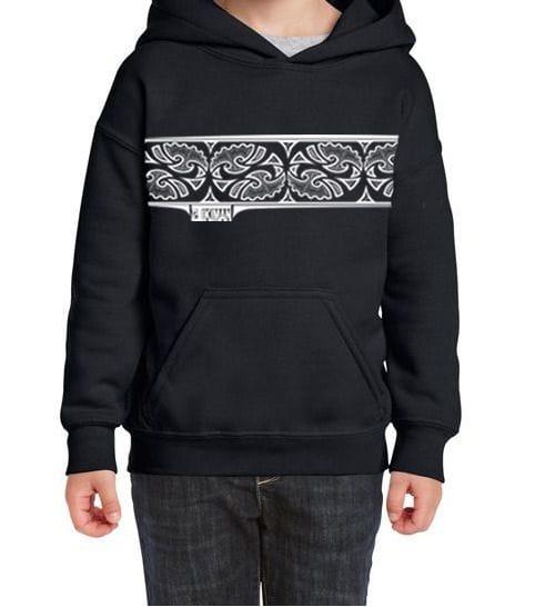 Youth Keti Aronui Design Kangaroo Pocket Hoodie