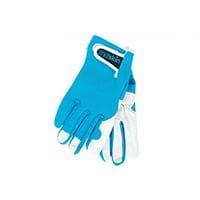 Annabel Trends 2nd Skin Mens Gardening Gloves Aqua