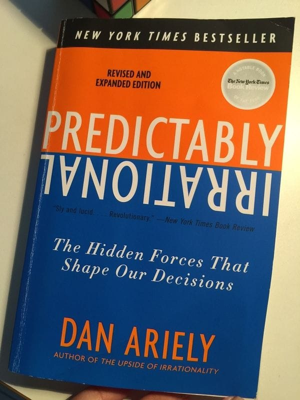 book review predictably irrational Anyone who has read dan ariely's book predictably irrational knows his method and his style: his students are paid a couple of dollars or cents to order beer.