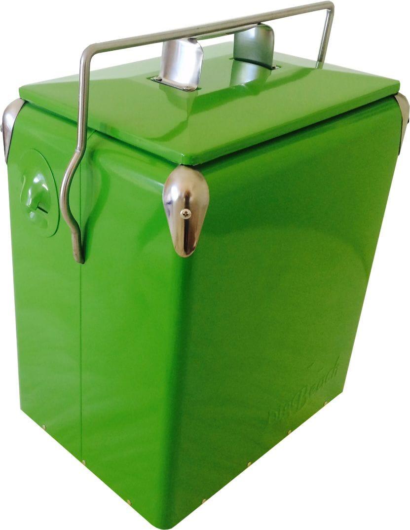 17L Green Retro Cooler
