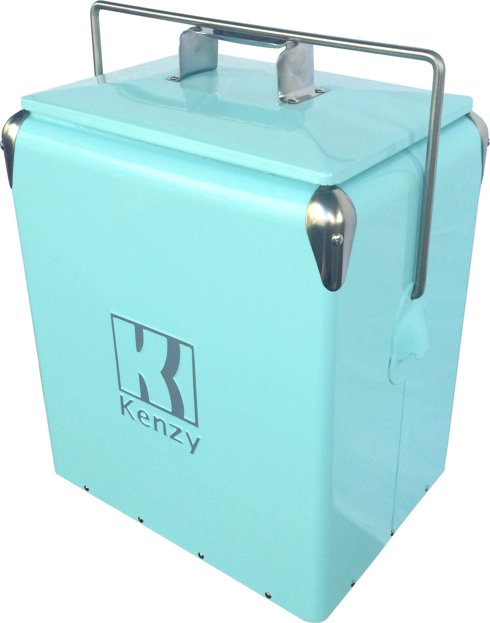 17L Light Blue Retro Cooler