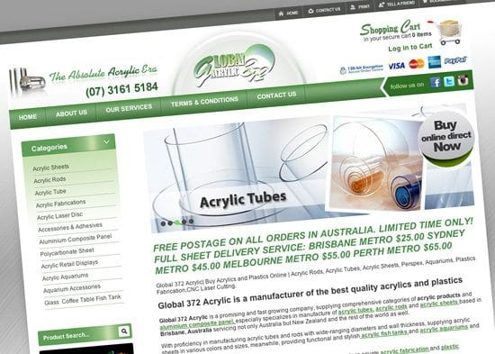 Client spotlight - Acrylics Online