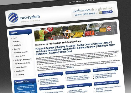 Client Spotlight - Pro-System Training Services
