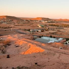 COOBER PEDY'S BREATH OF FRESH AIR