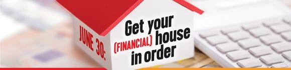 Get Your Financial House in Order