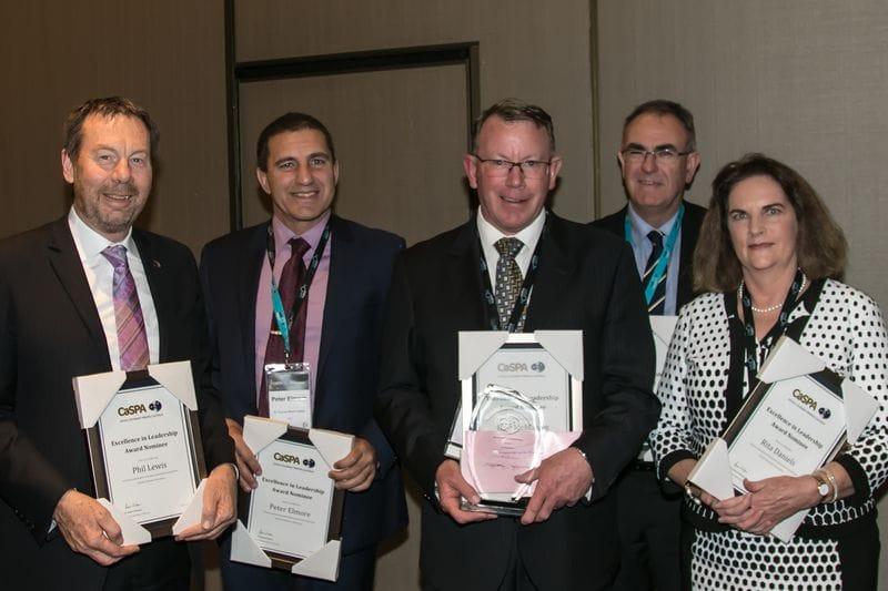CaSPA 2016 - Excellence in Leadership Award