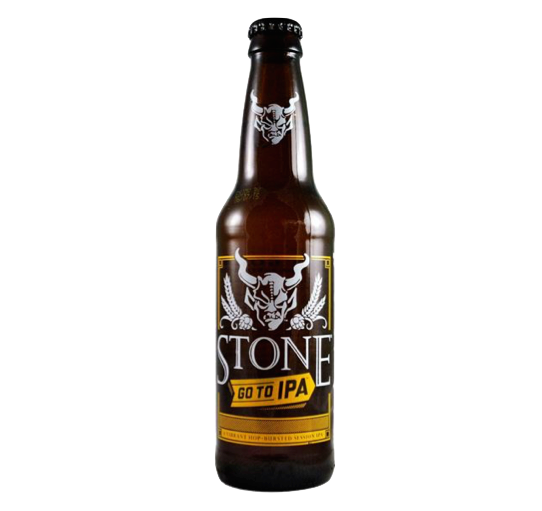 STONE BREWING GO TO IPA SGL 355ML