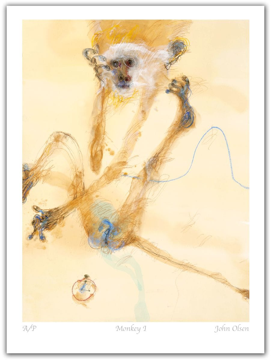 John Olsen - Monkey I