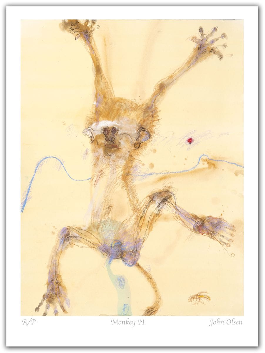 John Olsen - Monkey II