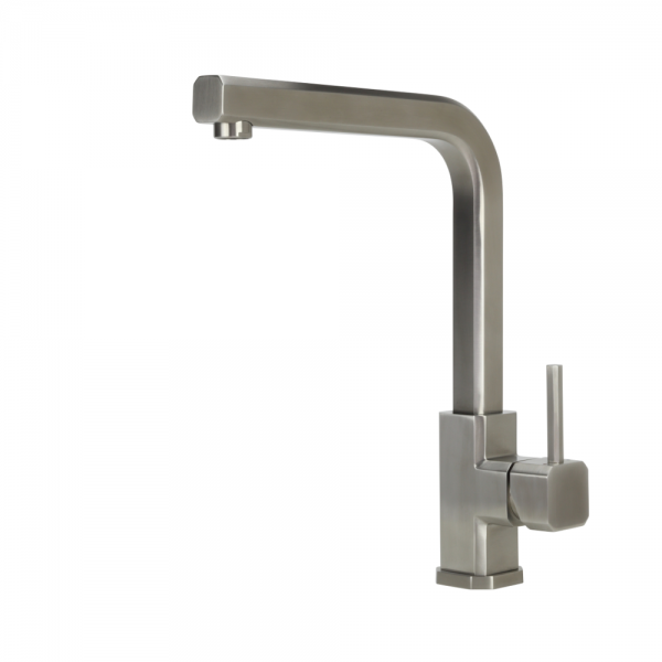 CUBEX - Stainless Steel Sink Mixer - Swivel Spout