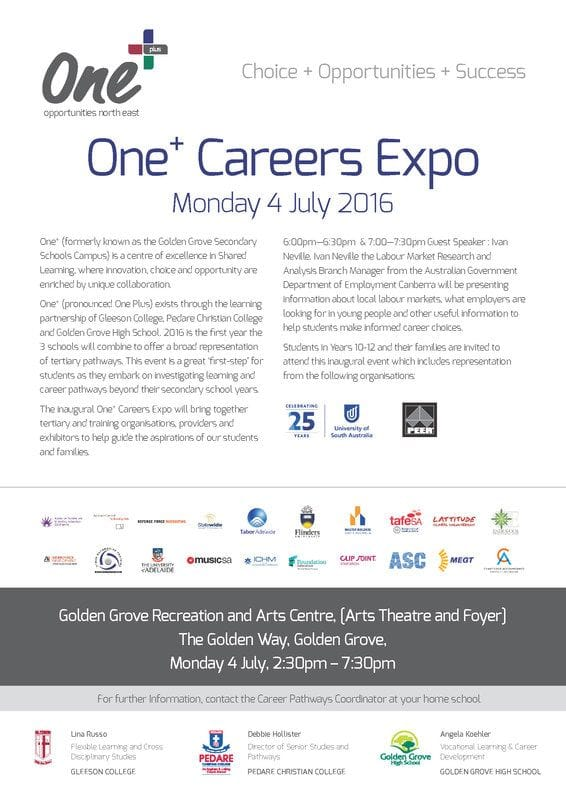 One+ Careers Expo 2016