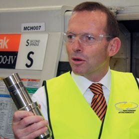 ABBOTT'S DIRE MESSAGE TO GOLD COAST MANUFACTURERS