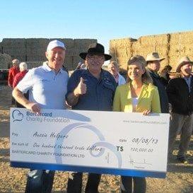 BARTERCARD HELPS AUSSIE FARMING FAMILIES