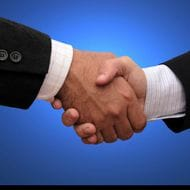 Bronzed handshake the new goodbye for executives?