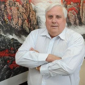 CLIVE PALMER TO SUE QR NATIONAL FOR $8BN
