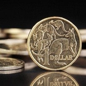 DOLLAR VALUE SLIPS BELOW THE US GREENBACK