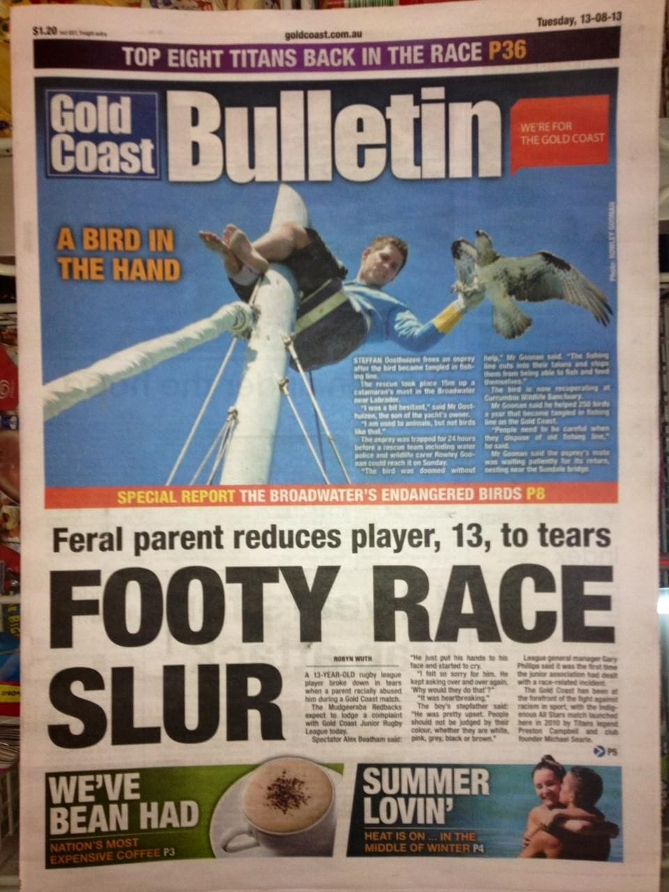 NEWS CORP TO STOP PRESS AT BULLETIN