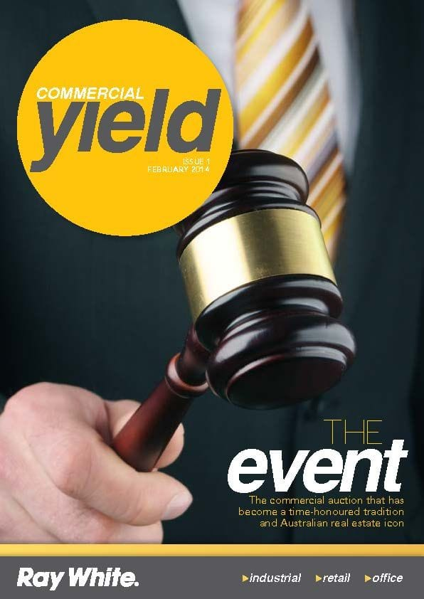 RAY WHITE LAUNCHES NEW LOOK COMMERCIAL MAGAZINE