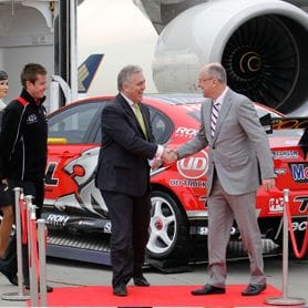 V8 SUPERCARS FLYING HIGH WITH ETIHAD