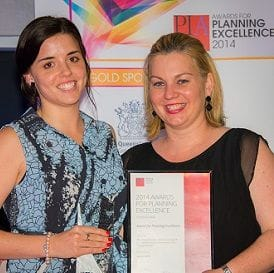 WILLIS LAUDED AS QUEENSLAND'S TOP YOUNG PLANNER