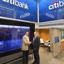 CITIBANK LEASES NEW FLAGSHIP BRANCH