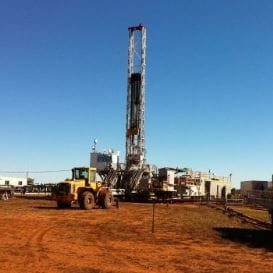 COMET RIDGE BRINGS TEST WELL ON-LINE