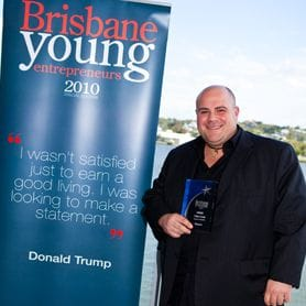 DI BELLA WINS 2010 BRISBANE YOUNG ENTREPRENEUR AWARD