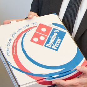 DOMINOS EUROPE BRINGS BIGGER SLICE