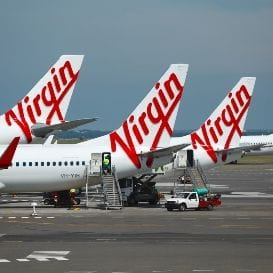 MIXED RESULTS FOR VIRGIN