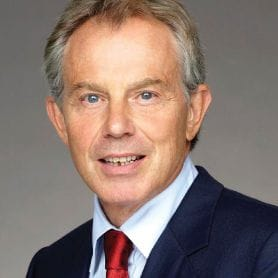 TONY BLAIR SAYS WESTERN WORLD FACING 'CRISIS OF CONFIDENCE'