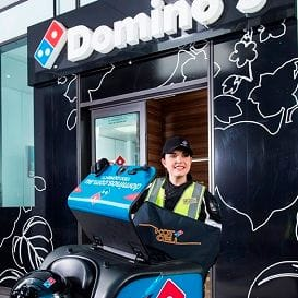 INNOVATION HELPS DRIVE DOMINO'S PROFIT TO $64M