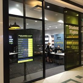 STYLISH NEW STORE FOR STUDENT FLIGHTS