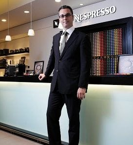 STRAIGHT TALK: NESPRESSO GM 'WALKS THE TALK'
