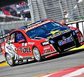PRESSURE IS ON UNTIL FINISH LINE FOR V8 BOSS